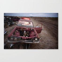 Winton Car Canvas Print
