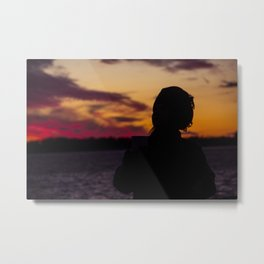 BEDOUIN SUNSET III Metal Print
