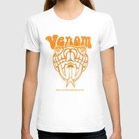 anchorman T-shirts featuring ANCHORMAN - Venom  by John Medbury (LAZY J Studios)