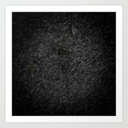Needle Carpet Green Color Pop Art Print