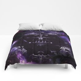 DARTH VADER ILLUSION SAPCE Comforters