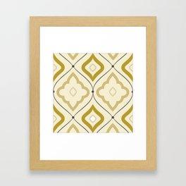 Moroccan Sand Framed Art Print