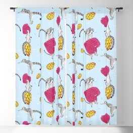 Madagascar bounce Blackout Curtain