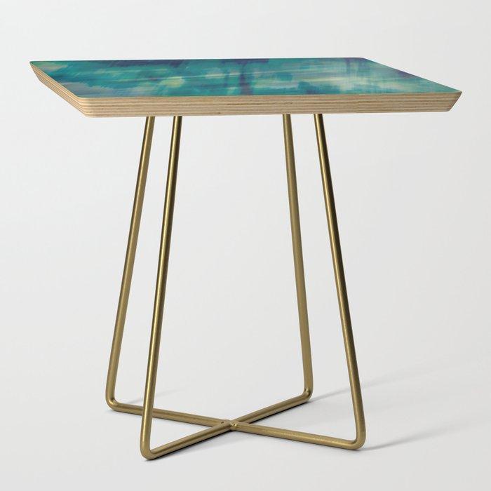 Submerge Aqua Side Table