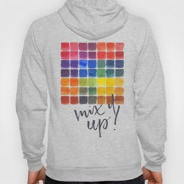 Mix it Up! - Watercolor Mixing Chart Hoody