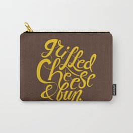 Grilled Cheese & Fun Carry-All Pouch