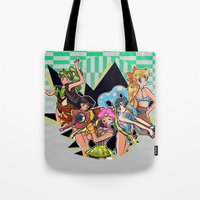 rave Tote Bags featuring Sailor Rave by PandaToyz