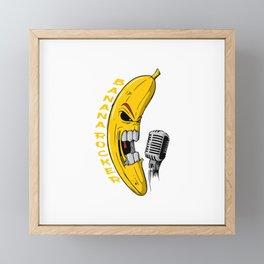 Banana Rock! Framed Mini Art Print