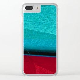 Tra il Maré e Lá Terra Clear iPhone Case