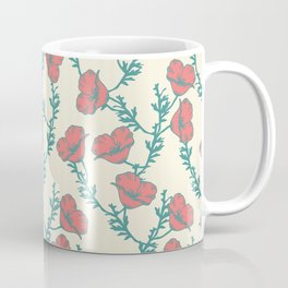 Cali Poppies Coffee Mug