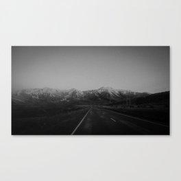 Arthurs Pass Highway Canvas Print