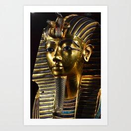 Tutankamen' Death Mask Art Print