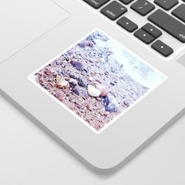 Colorful Stones by the Baltic Sea Sticker