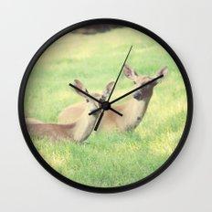 Oh, Deer Wall Clock