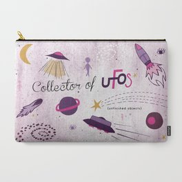 Collector of UFOs Carry-All Pouch