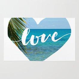 Gotta Love That View - Tropical Paradise Rug