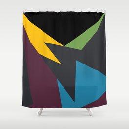 VII Bordeaux Shower Curtain