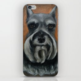 Schnauzer No.4 iPhone Skin
