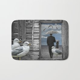 Weathering the Gulls Bath Mat
