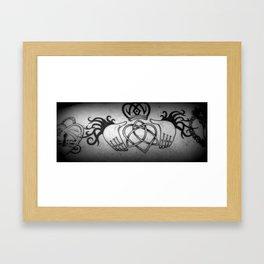 My Celtic Heart Framed Art Print