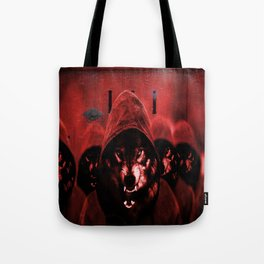 Wolf at your door Tote Bag