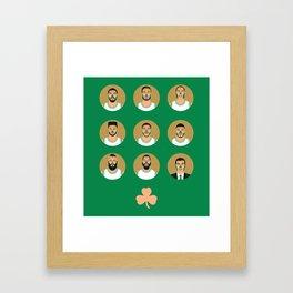 The Contenders - BOS Framed Art Print