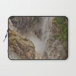 Beautiful waterfall in the rainforest Laptop Sleeve