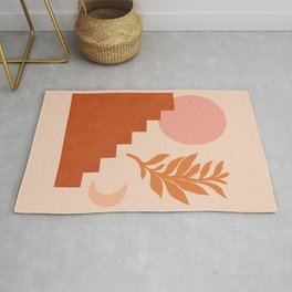 Abstraction_SUN_NATURE_Architecture_Minimalism_001 Rug