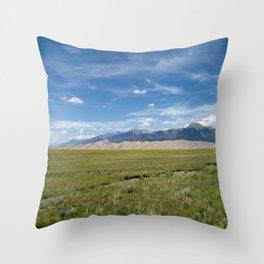 Sand Dunes # 3 Throw Pillow