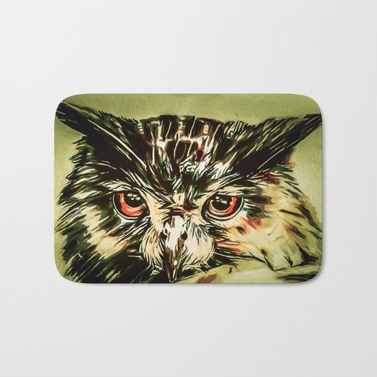 My Owl - Owliver Bath Mat