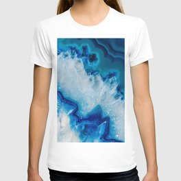 Royally Blue Agate T-shirt