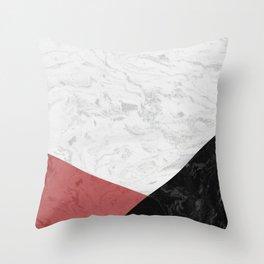 MARBLE INFERIOR Throw Pillow
