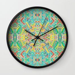 Boho pattern Wall Clock