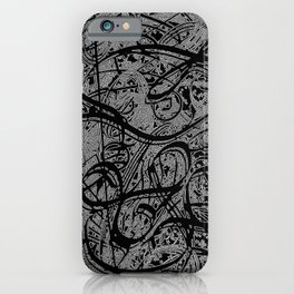 Doodle Abstraction  iPhone Case