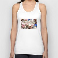 magnolia Tank Tops featuring  Magnolia. by Assiyam