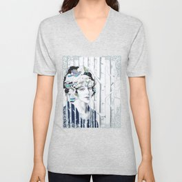 I'd Have Been Happier As A Bird Unisex V-Neck