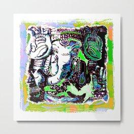 Ganesha (5) C Metal Print