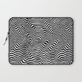 Op Art Stripes Laptop Sleeve
