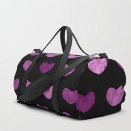Colorful Cute Hearts VI Duffle Bag