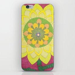 Flower of My Sun iPhone Skin