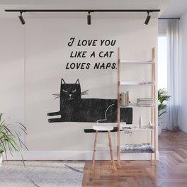 Cat Naps Wall Mural