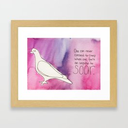 Soar no1 Framed Art Print