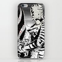 dead space iPhone & iPod Skins featuring Dead Space by Averagejoeart