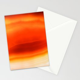 Agate inferno Stationery Cards