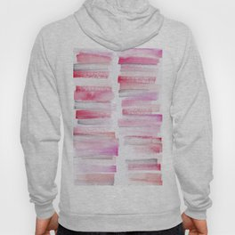 16 | 181101 Watercolour Palette Abstract Art | Lines | Stripes | Hoody