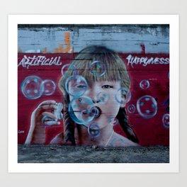"""Artificial Happyness"" Art Print"