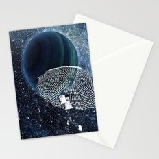 Sparkling stars Stationery Cards