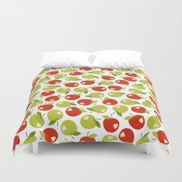 Bitten apples Duvet Cover
