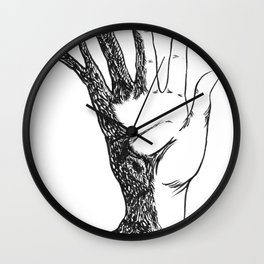 Natural Connection Wall Clock