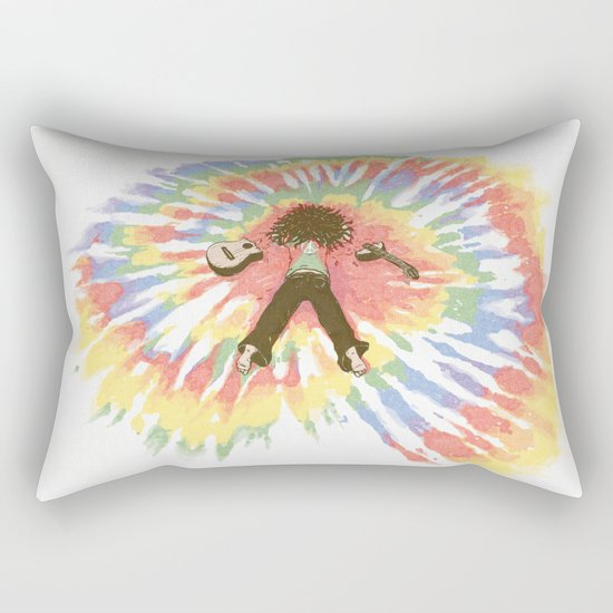 Tie Die Rectangular Pillow